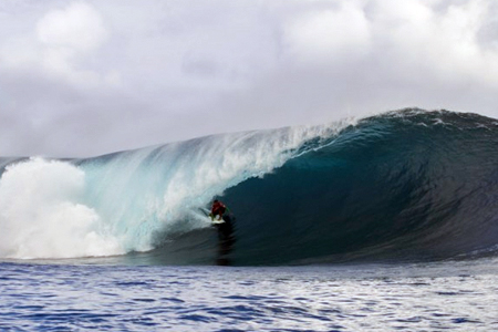 Michel Bourez - Billabong Pro Teahupoo 2011