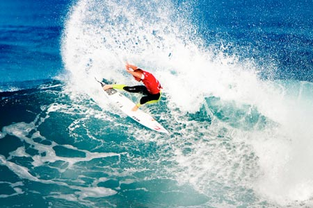 Mick Fanning - Quiksilver Pro France 2011