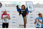 Podium Junior - Swatch Girls Pro 2013 - Le Penon, Seignosse - Hossegor