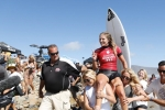 Stephanie Gilmore - Swatch Pro Trestles 2014 - San Clemente