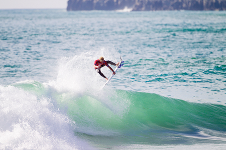 Nat Young - Rip Curl Pro Portugal - Supertubos, Peniche'