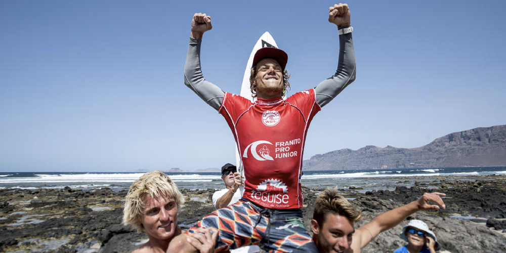 Nelson Cloarec - Champion d'Europe Junior WSL