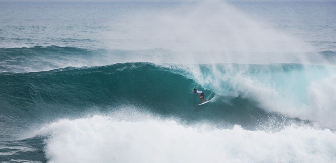 Peterson Crisanto - Vans World Cup of Surfing - Triple Crown - Sunset Beach, Hawaii