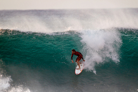 Pipeline, Hawaii, Bruce Irons