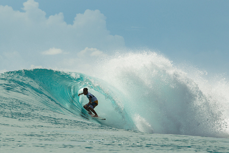 Putra Hermawan - Lance right - Rip Curl Mentawaii Pro 2013
