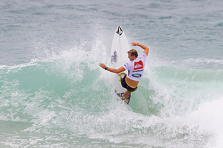 Quiksilver pro Gold Coast 2011 : Dusty Payne'