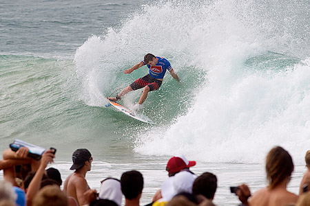 Quiksilver Pro Gold Coast 2011 : Michel Bourez