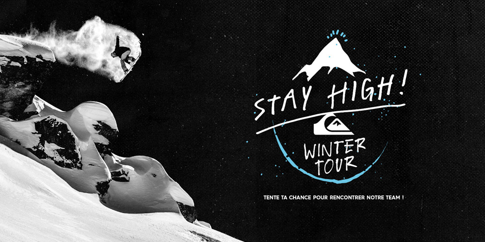 Quiksilver Stay High'