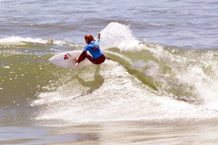 Rebecca Woods - US Open of Surfing 2011'
