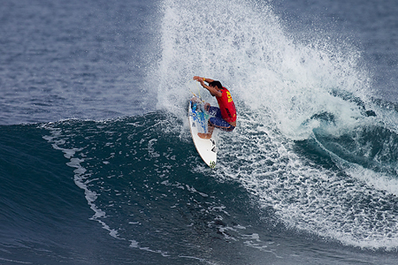 Reef Hawaiian Pro 2010 : Michel Bourez