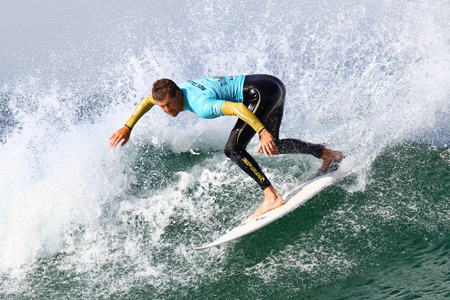 Richie Collins - Supersurf ASP World Masters Championships 2011