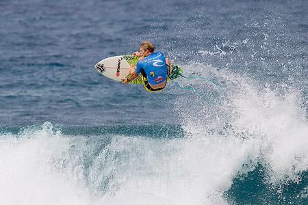 Rip Curl Pro Search 2010 - Somewhere in Puerto Rico - Bede Durbidge - © Kirstin/ASP