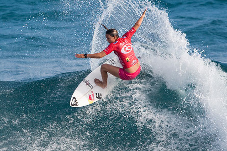 Rip Curl Pro Search 2010 - Somewhere in Puerto Rico - Sally Fitzgibbons - © Kirstin/ASP'