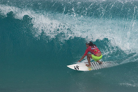 Rip Curl Pro Search 2010 - Somewhere in Puerto Rico - Silvana Lima - © Kirstin/ASP