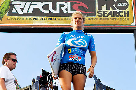 Rip Curl Pro Search 2010 - Somewhere in Puerto Rico - Stephanie Gilmore - © Kirstin/ASP