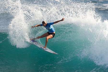 Rip Curl Pro Search 2010 - Somewhere in Puerto Rico - Stephanie Gilmore - © Kirstin/ASP'