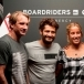 Robby Naish, Bixente Lizarazu, Lee-Ann Curren, Benjamin Fall - Inauguration Boardriders de Bercy village