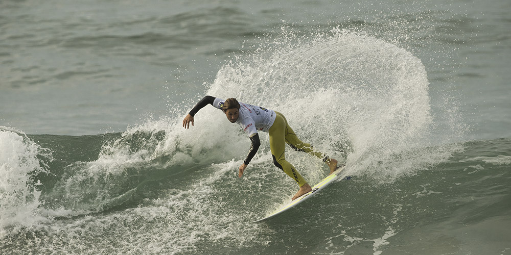 Romain Laulhé champion de France de surf Open 2015