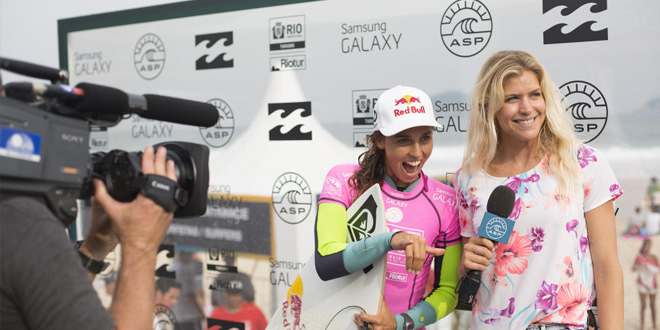 Sally Fitzgibbons - Billabong Pro Rio 2014 - Brésil'