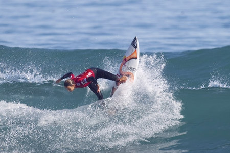 Sally Fitzgibbons - New Zealand Surf Festival 2012