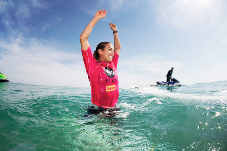 Sally Fitzgibbons - Roxy Pro France 2013 - Seignosse - Hossegor'