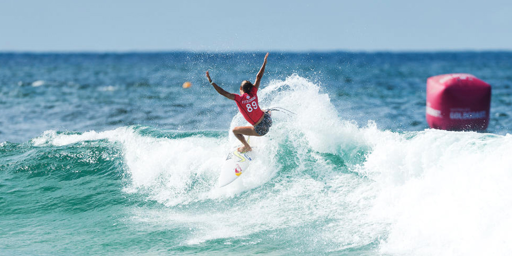 Sally Fitzgibbons - Roxy Pro Gold Coast 2015 - Snapper Rocks