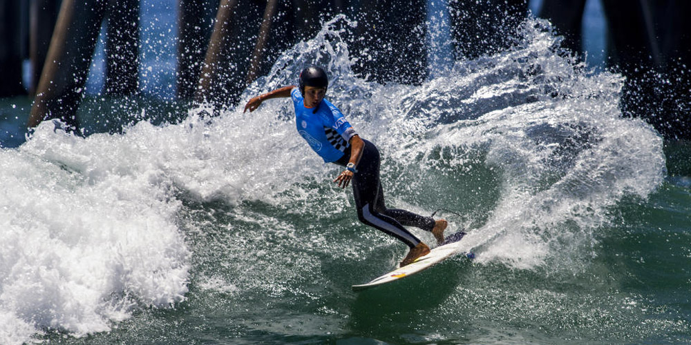 Sally Fitzgibbons - US Open Of Surfing 2015 - Huntington Beach