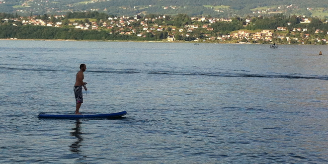 Session SUP Lac du Bourget'