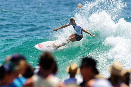 Stephanie Gilmore - Roxy Pro Gold Coast 2012'