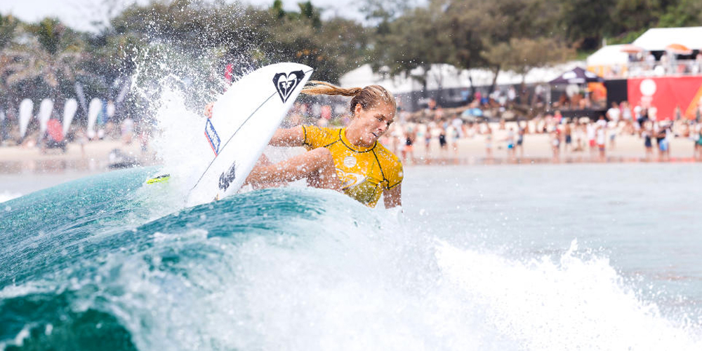 Stephanie Gilmore - Roxy Pro Gold Coast 2015 - Snapper Rocks'