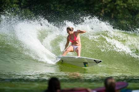 Stephanie Gilmore, Wavegarden - Roxy Pro Biarritz 2013'