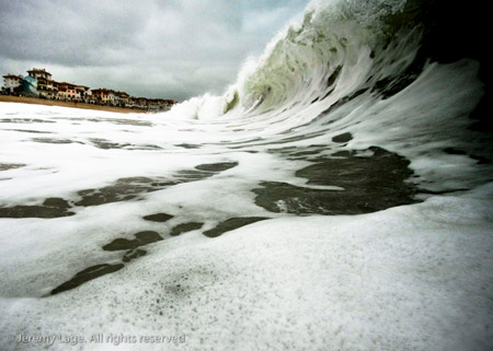 Stormy day - la nord - Hossegor - France'