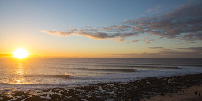 Sunset - J-Bay Open 2014 - Jeffrey Bay, Afrique du sud