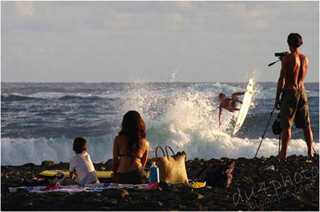 Surf Tahiti air'