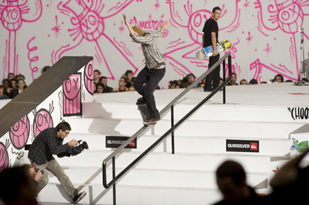 Tony Hawk show 2009 : Dominik Dietrich'