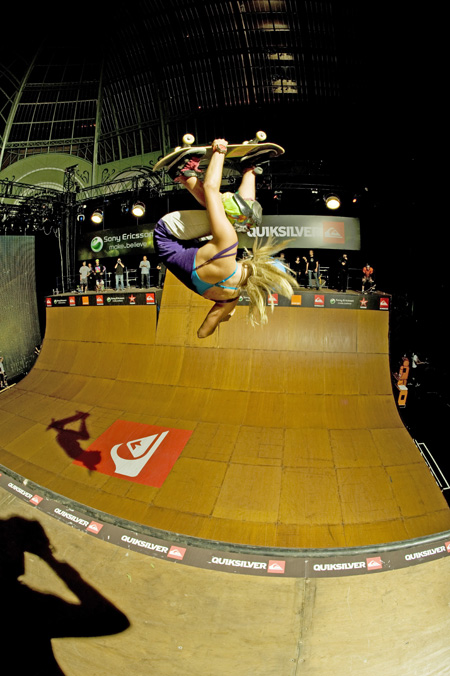 Tony Hawk show 2009 : Liz'