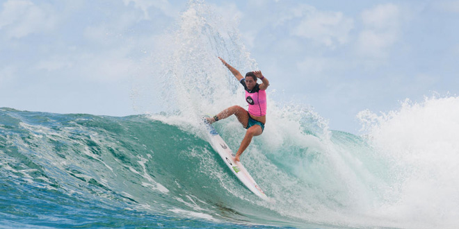 Tyler Wright - Roxy Pro Gold Coast 2014 - Snapper Rocks, Australie