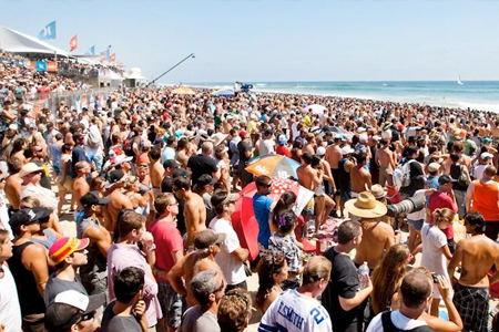 US Open Of Surfing 2011'