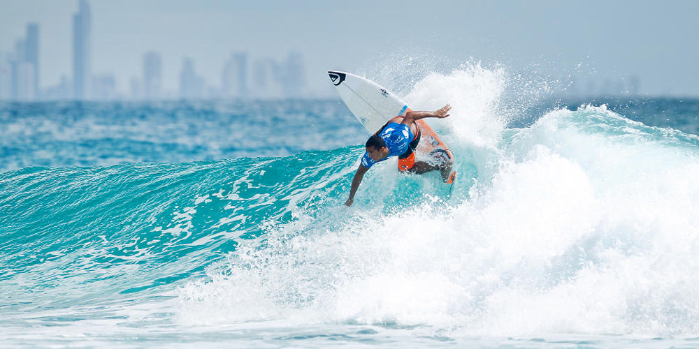 Wiggolly Dantas - Quiksilver Pro Gold Coast 2015 - Snapper Rocks
