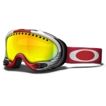 Masque ski snow homme A Frame S.white Block Stripes Red