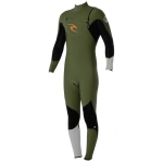 neoprene integrale 4/3 homme E Bomb 4/3 Chest Zip Gb