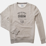 Sweat Homme Olat - Gris Chiné