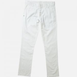 pantalon blanc en lin pour homme pantalon large cropped ray en coton et lin by diega pour femme. Black Bedroom Furniture Sets. Home Design Ideas