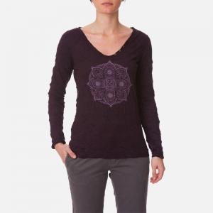 4e41c5ac14a Tee-Shirt Femme Mati - Prune -